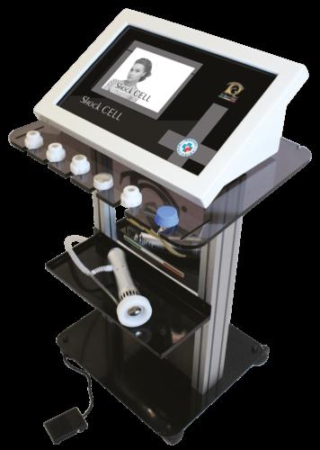 Immagine dispositivo apparecchiatura Ondas de choque en Medicina Estética y Fisioterapia
