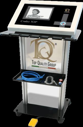 Immagine dispositivo apparecchiatura Carboxiterapia: micro infiltración de CO2 medicinal en Medicina Estética.