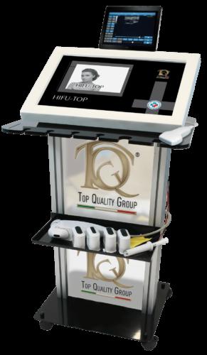 Immagine dispositivo apparecchiatura Ultrasonido focalizado y electroporación en Medicina Estética