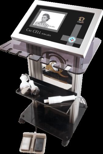 Immagine dispositivo apparecchiatura Lipo Emulsificación Ultrasónica Subcutánea, Hidrolipoclasia Transdérmica Y Cavitación Transdérmica En Medicina Estética