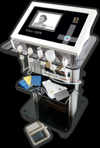 Immagine dispositivo apparecchiatura Radiofrecuencia y Electroporación en Medicina Estética y Fisioterapia, Radiofrecuencia Fraccionada, Radiofrecuencia Intradérmica y Radio Bisturí
