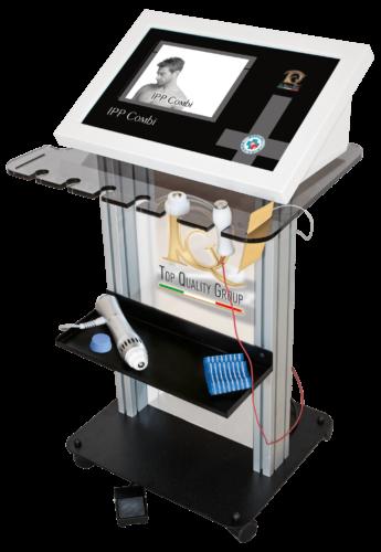 Immagine dispositivo apparecchiatura Ondas de choque y electroporación para el tratamiento de trastornos de la erección y la Induratio Penis Plastica